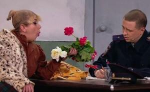 Камеди Вумен - Театральная актриса в отделении полиции